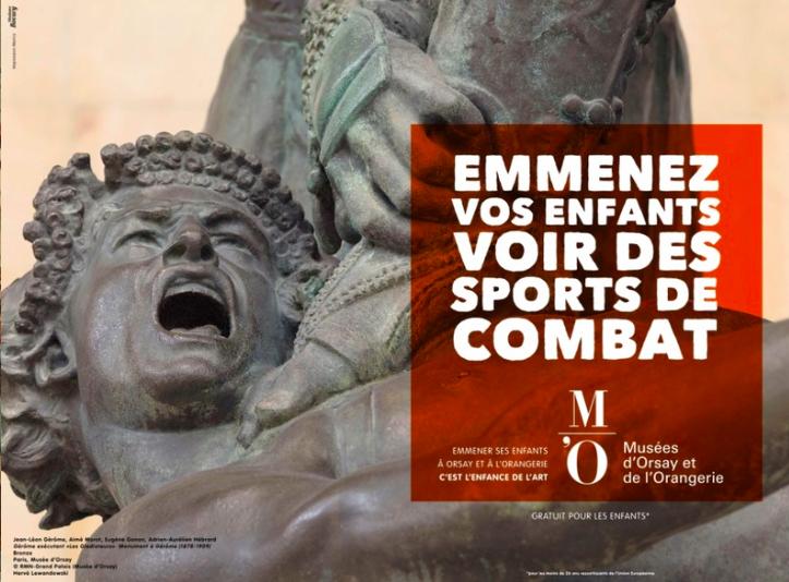 Museu francês retoma campanha