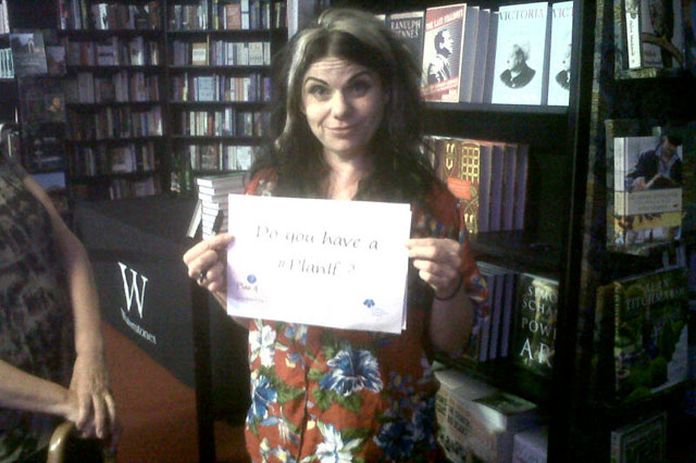 Caitlin Moran supports the Childhood Bereavement Network's Plan If campaign.