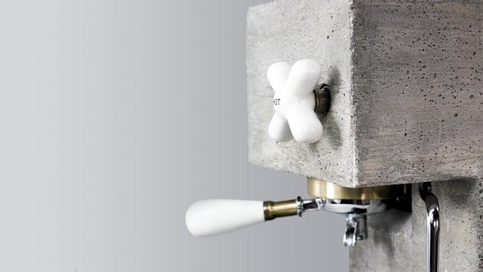 AnZa: Die Espressomaschine aus Beton
