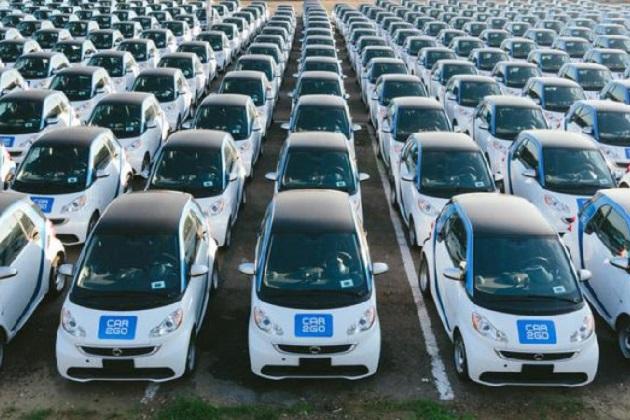カーシェアリング・サービス「Car2go」、サンディエゴで2014年型スマート「フォーツーED」400台を導入!