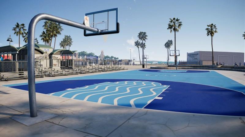 Venice Beach court - NBA Live 18