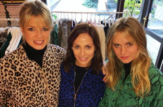 Cressida Bonas goes  on shopping spree with Natalia Imbruglia