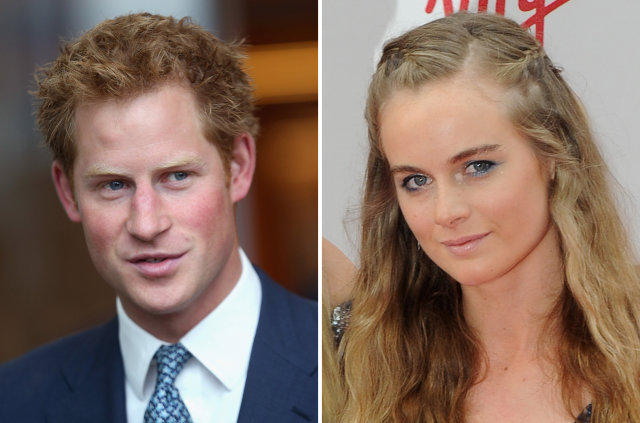 Prince Harry and Cressida Bonas back together?
