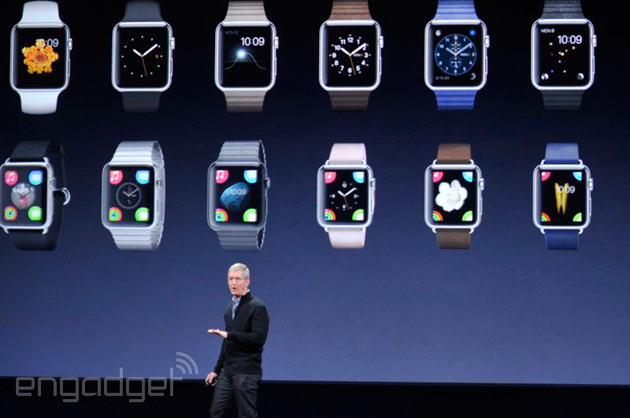 Apple's Tim Cook at the 'spring forward' event