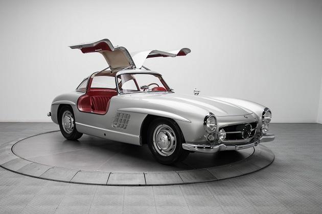 カナダに所縁のある1954年型メルセデス・ベンツ「300SL」、約2億3,000万円で売却