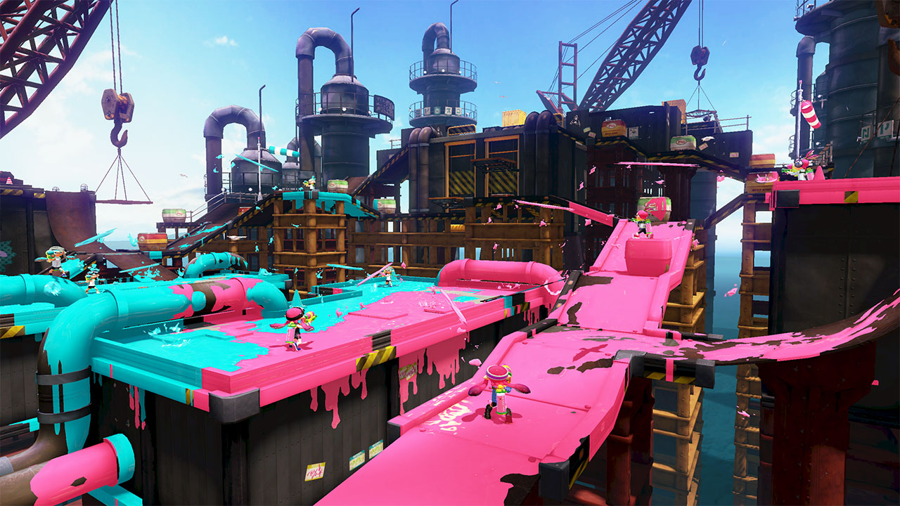 Splatoon is a vivid and awesome new Nintendo title