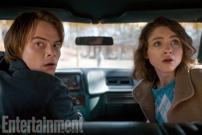 Stranger Things (2017)Season 2, Episode TKCharlie Heaton as Jonathan Byers and Natalia Dyer as Nancy Wheeler