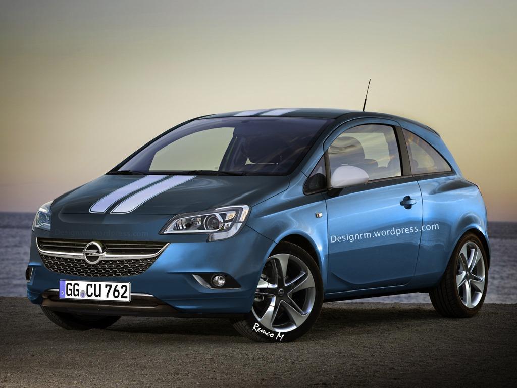 Opel Corsa, opel corsa 2015, spy shot, video, Opel Corsa E, Corsa e