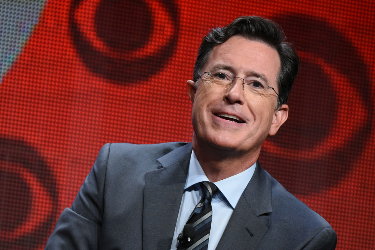 Stephen Colbert's first 'Late Show' guests include Tesla ... Stephen Colbert