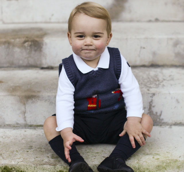 Prince George's Christmas tank top sold on eBay for four times the cost price