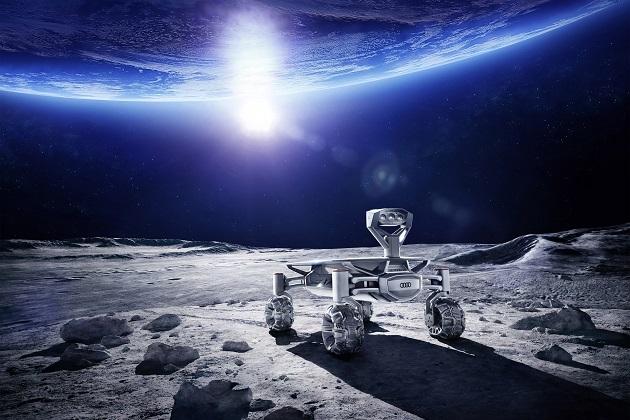 【ビデオ】アウディの探査ローバー「ルナ・クワトロ」 2017年末までに月面着陸を目指す