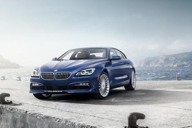 BMW公認チューナー、アルピナが2016年型「B6 xDriveグランクーペ」を発表!