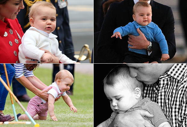 PRince George adorable pictures