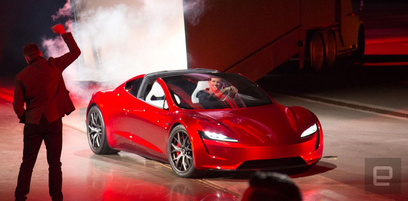 Elon Musk: 2018 schieße ich meinen roten Roadster zum Mars