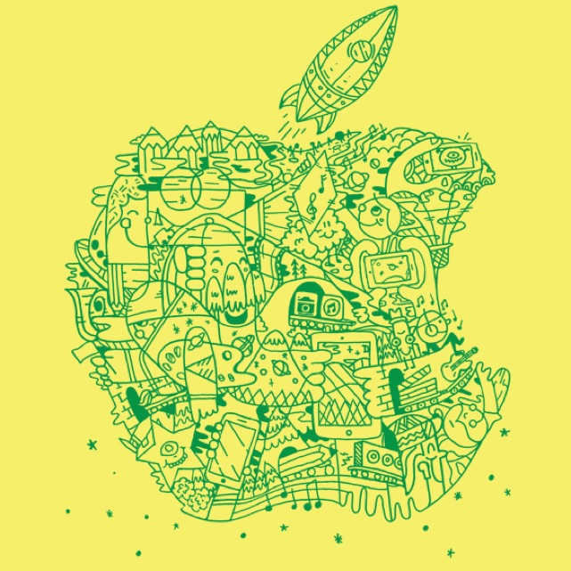 Apple Store camp logo