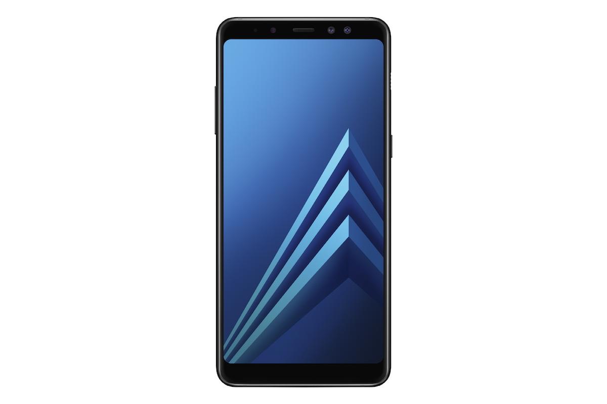 Samsung Galaxy A8 aterriza con pantalla (casi) infinita y doble cámara frontal