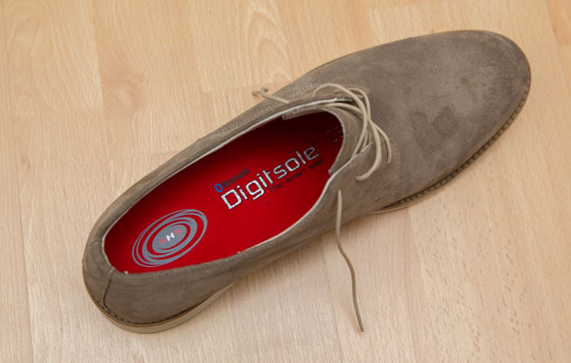 Digitsole's smart insoles keep your tootsies warm as you walk