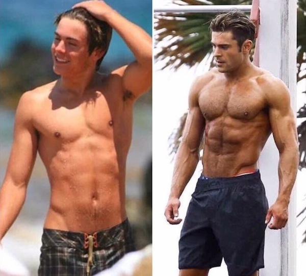 Jason Momoa Transformation: Male Celebrity Body Transformations That Are Pretty