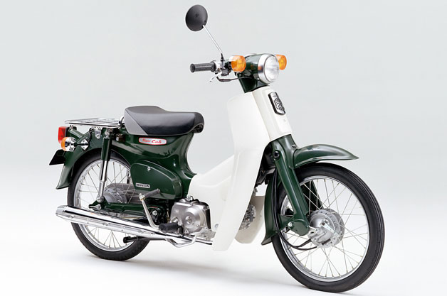 honda super cub first vehicle to receive 3d trademark in japan