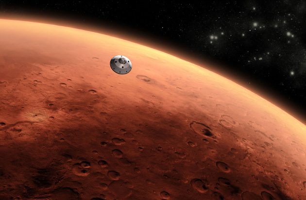 Mathematicians find a cheaper, slower way to get to Mars