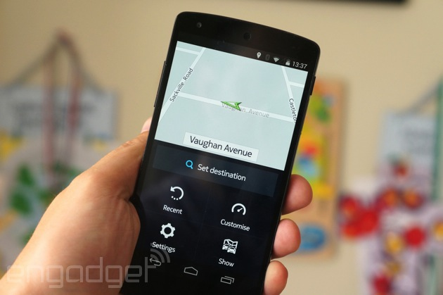 Nokia's HERE Maps for Android