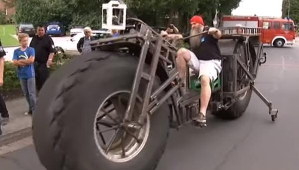 1トン超えで世界記録を更新! ドイツで世界一「重い」自転車が誕生