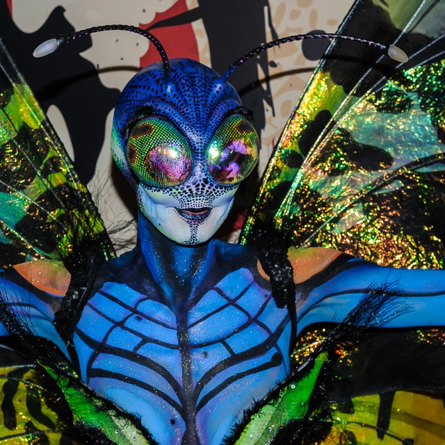 Heidi Klum's butterfly Halloween costume her best yet?