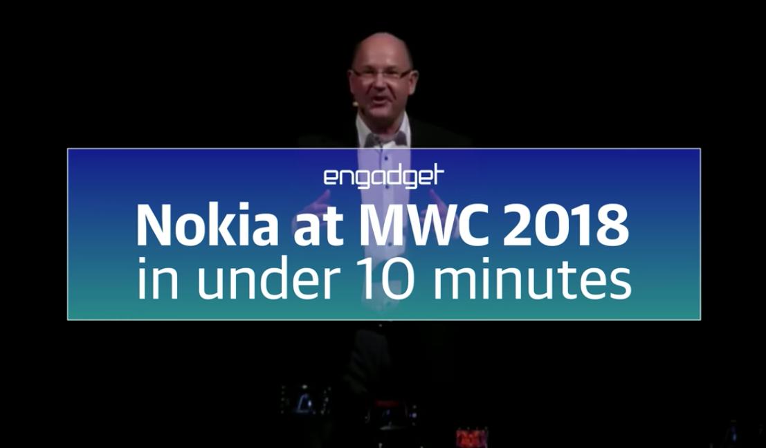 Nokia auf dem MWC in knappen 10 Minuten
