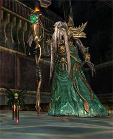 An Arasi and her merc in EQII