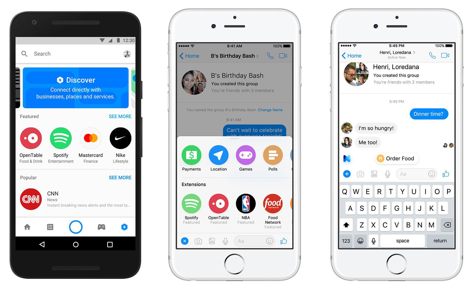 Te contamos las novedades de Facebook Messenger en 6 puntos clave