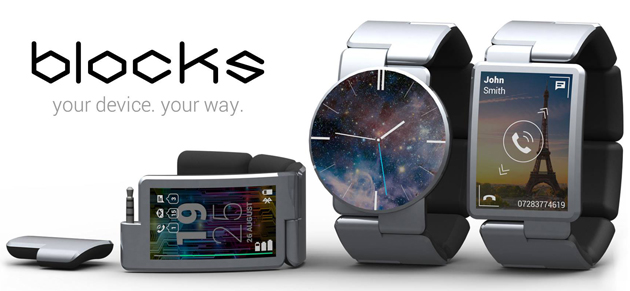 Phonebloks' modular smartwatch