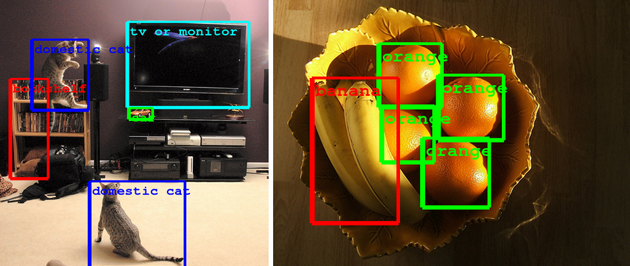 googles latest object recognition tech  spot    living room