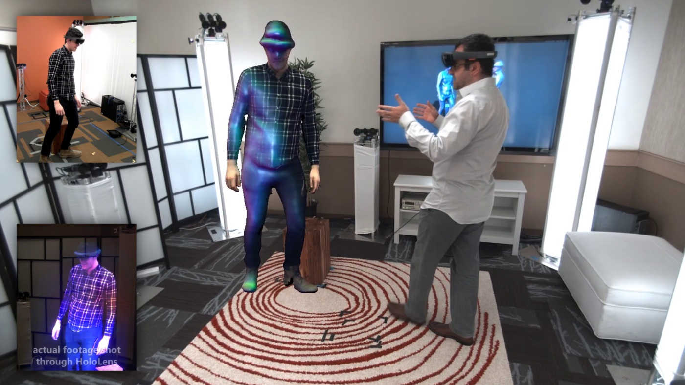 Holoportation: Jetzt wenigstens in Augmented Reality beamen mit Hololens