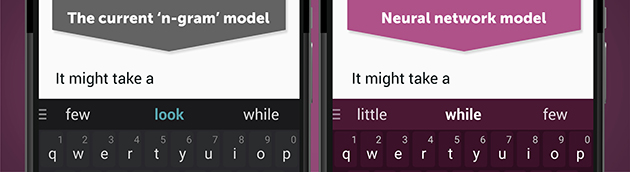 SwiftKey's latest keyboard is powered by a neural network