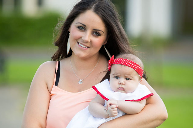 Mum miscarried twin - but baby sister survived