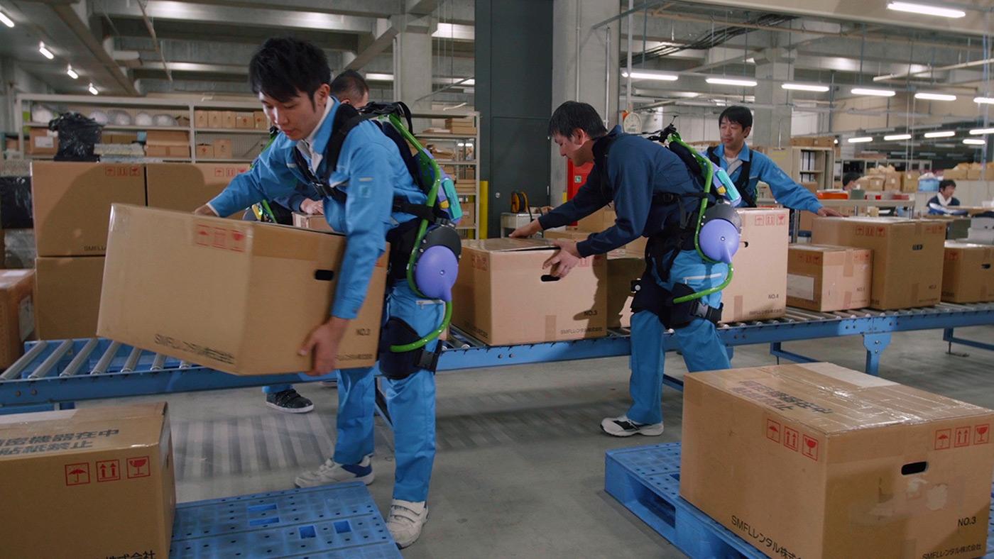Panasonic quiere llenar nuestro futuro de exoesqueletos