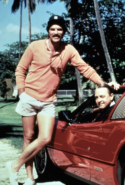 Was Tom Selleck Constantly Hiding An Erection On Magnum, P.I.?, tom selleck short shorts
