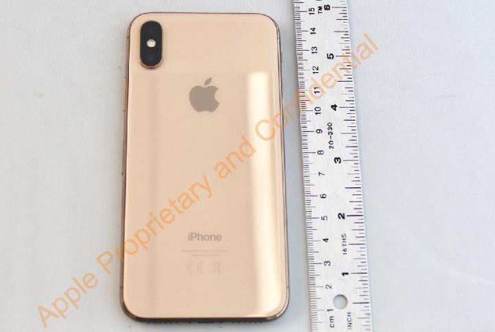 FCC-Leak zeigt goldenes iPhone X