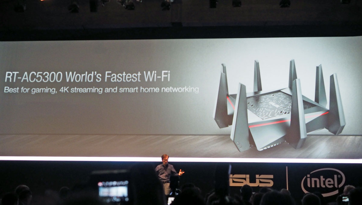 ASUS' spikey router promises the 'world's fastest WiFi'
