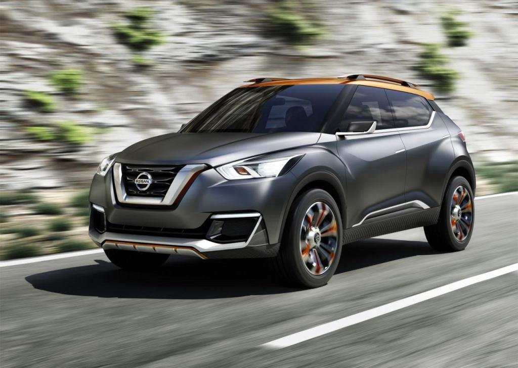 Nissan Kicks, Nissan Kicks concept, Nissan Juke, Nissan Crossover, sao paulo motor show, Kicks, crossover, debüt, premiere, revealed, offiziell, neuer crossover,