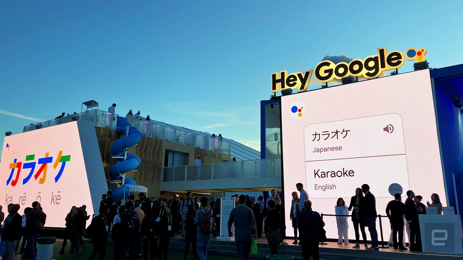 photo image Google won the voice assistant popularity contest at CES