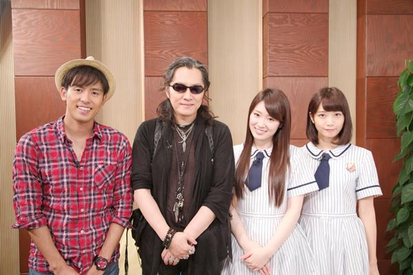 石井竜也と乃木坂46と意外な交友関係が明らかに!?