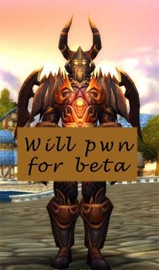 Will pwn for beta key