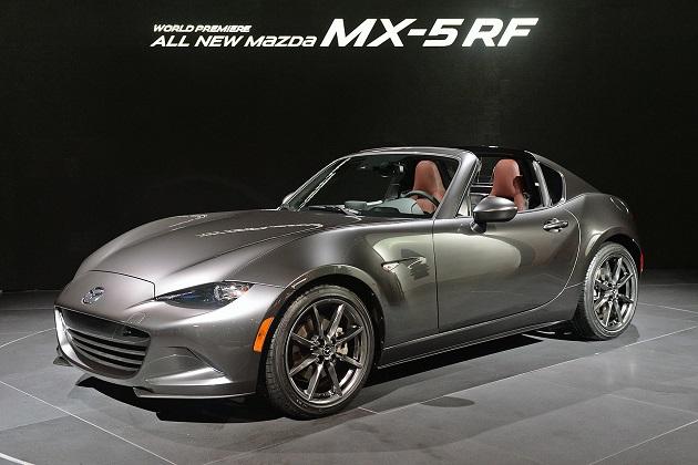 北米マツダ、得意客向けに1,000台限定の「MX-5 RF ローンチ・エディション」を販売