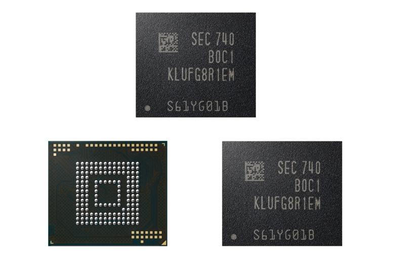 Samsung hat den 512GB-Speicherchip für Smartphones fertig