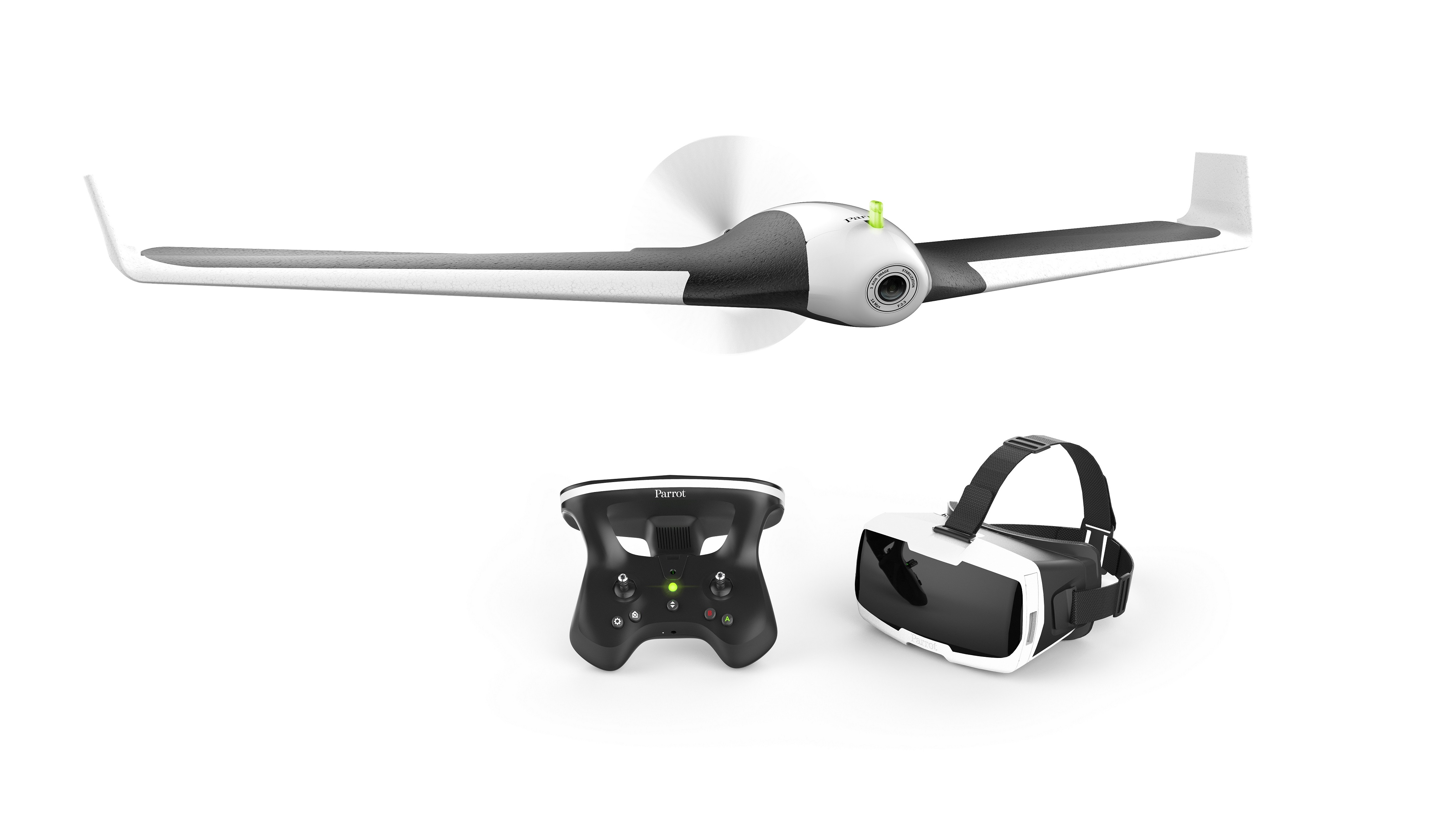Parrot+Disco Pack+%281%29 Parrot lanza el Disco: su dron para vuelos de realidad virtual