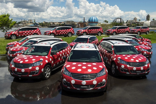 ディズニー・ワールドで来場者を乗せるミニ・バンではなく「ミニー・バン」 Lyftが運用開始