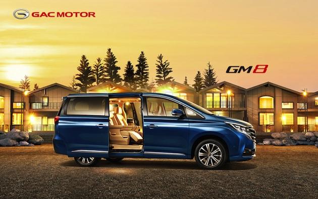 GAC Motorís first MPV GM8 (PRNewsfoto/GAC Motor)