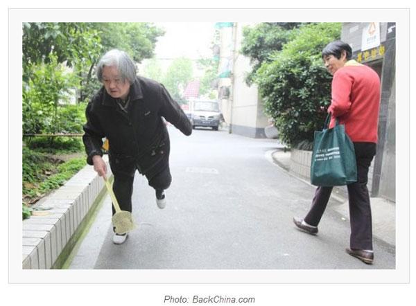 アチョー!!中国にとにかくハエを殺すお婆ちゃんが現れる 1日1,000匹殺したことも