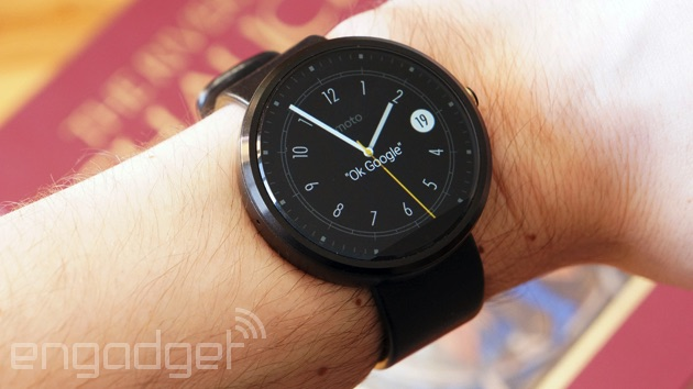 Moto 360 drops to $165 on Google's store